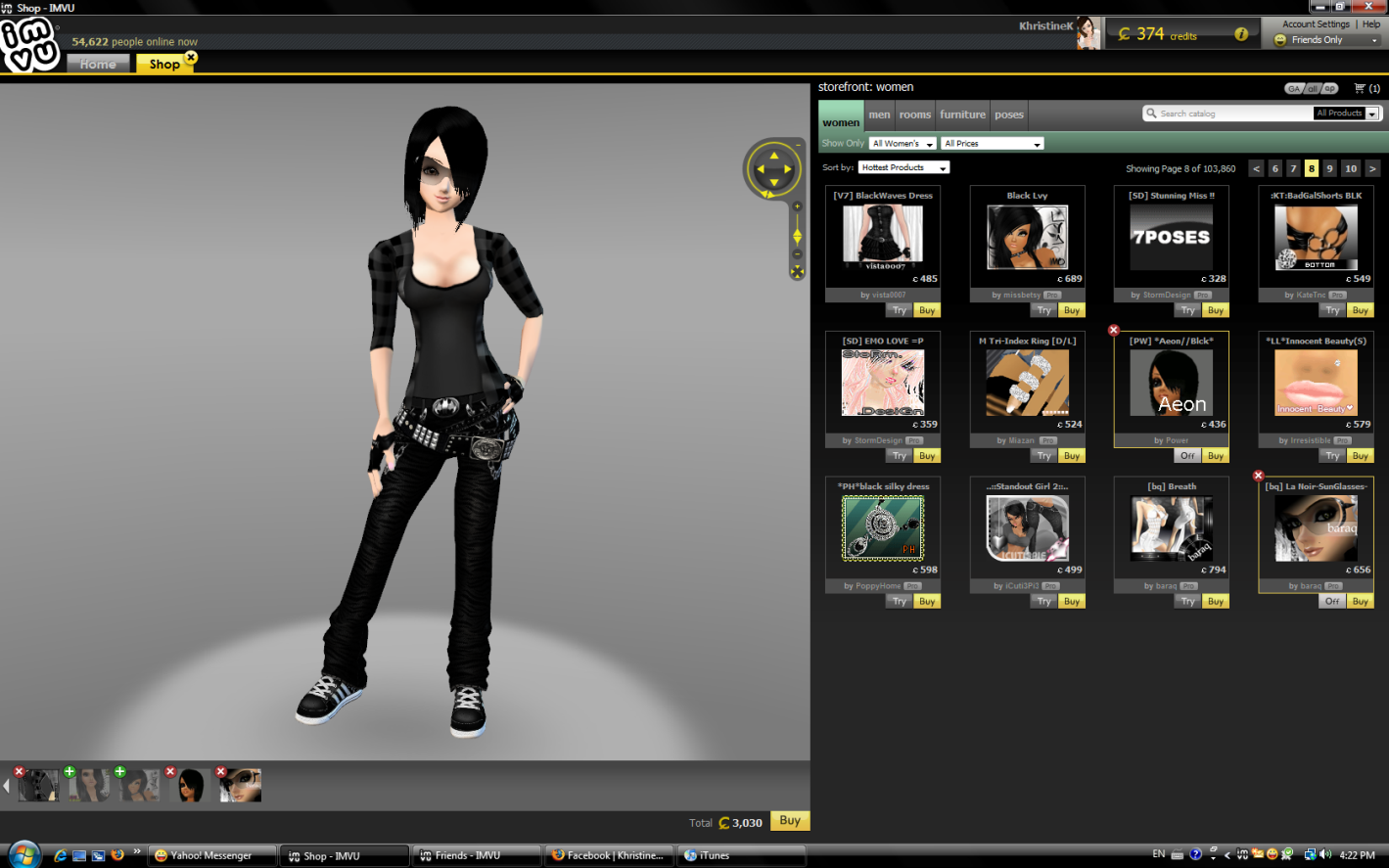 FindMySoft - Download IMVU Free How to take pictures in imvu shop