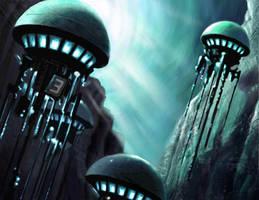 Underwater City by maddunkartist