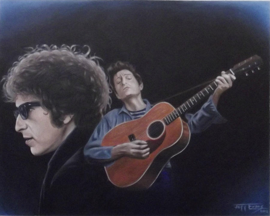 Bob Dylan by JeffEvans
