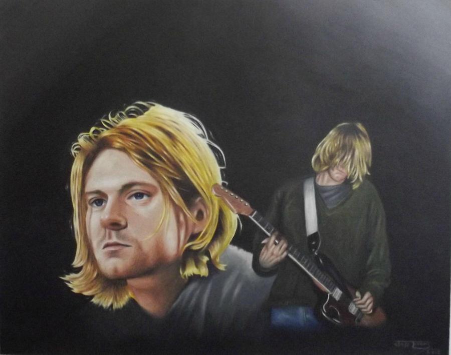 kurt cobain by JeffEvans