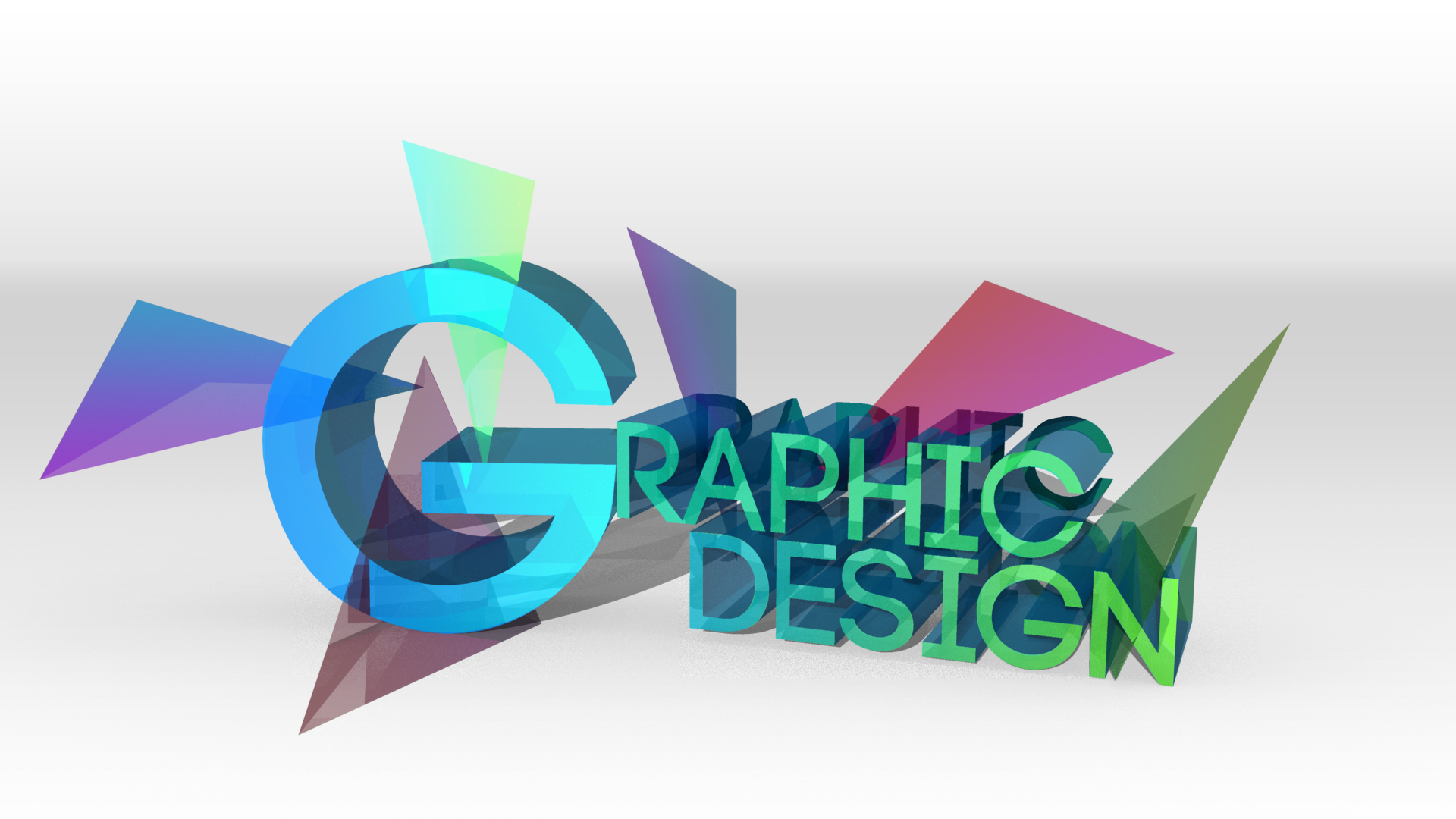 3D Graphic Design text by veritas-night on DeviantArt