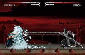 Enenra (Revenant Smoke) vs Kuai Liang (Sub-Zero) by blacksaibot