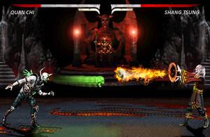 Clash of the Skulls by blacksaibot