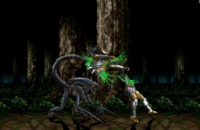 Alien vs Predator by blacksaibot