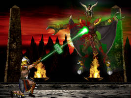 Kahn vs Onaga by blacksaibot