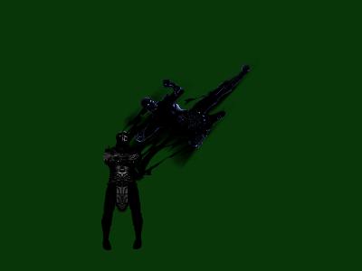WIP Noob Saibot and his Shadow Wraith by blacksaibot