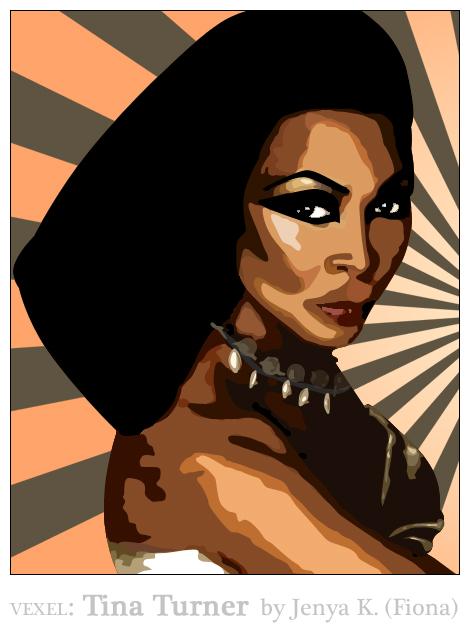 Vexel: Tina Turner by fionaadam