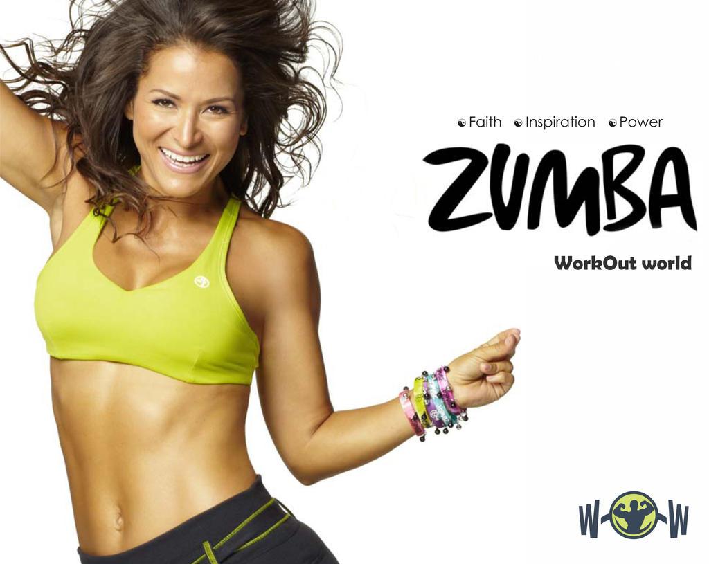 Zumba poster design -  Poster Design For Wow Fitness Club By Vijayarani