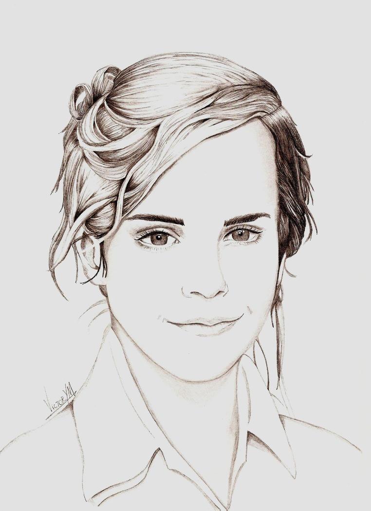 Emma Watson by VictorYMarques
