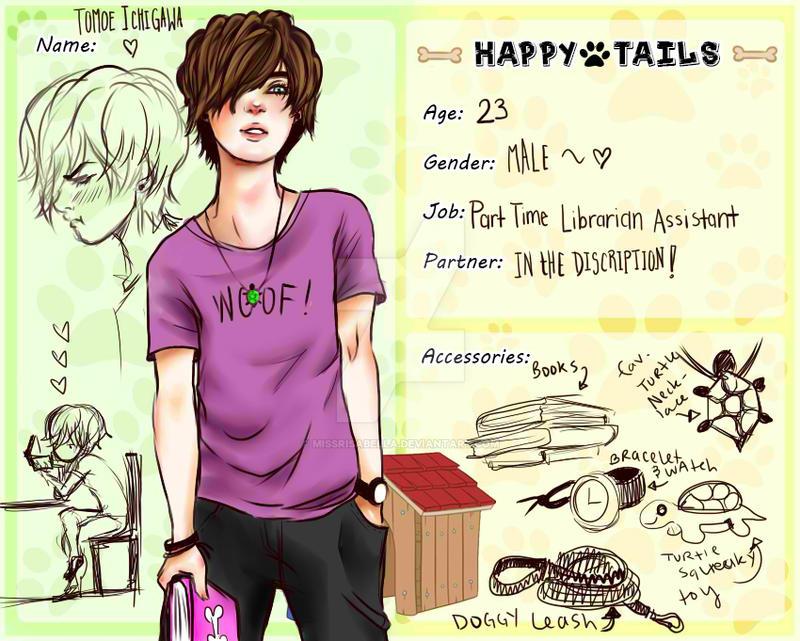 .:Happy-Tails:. Tomoe Ichigawa by MissRisabella