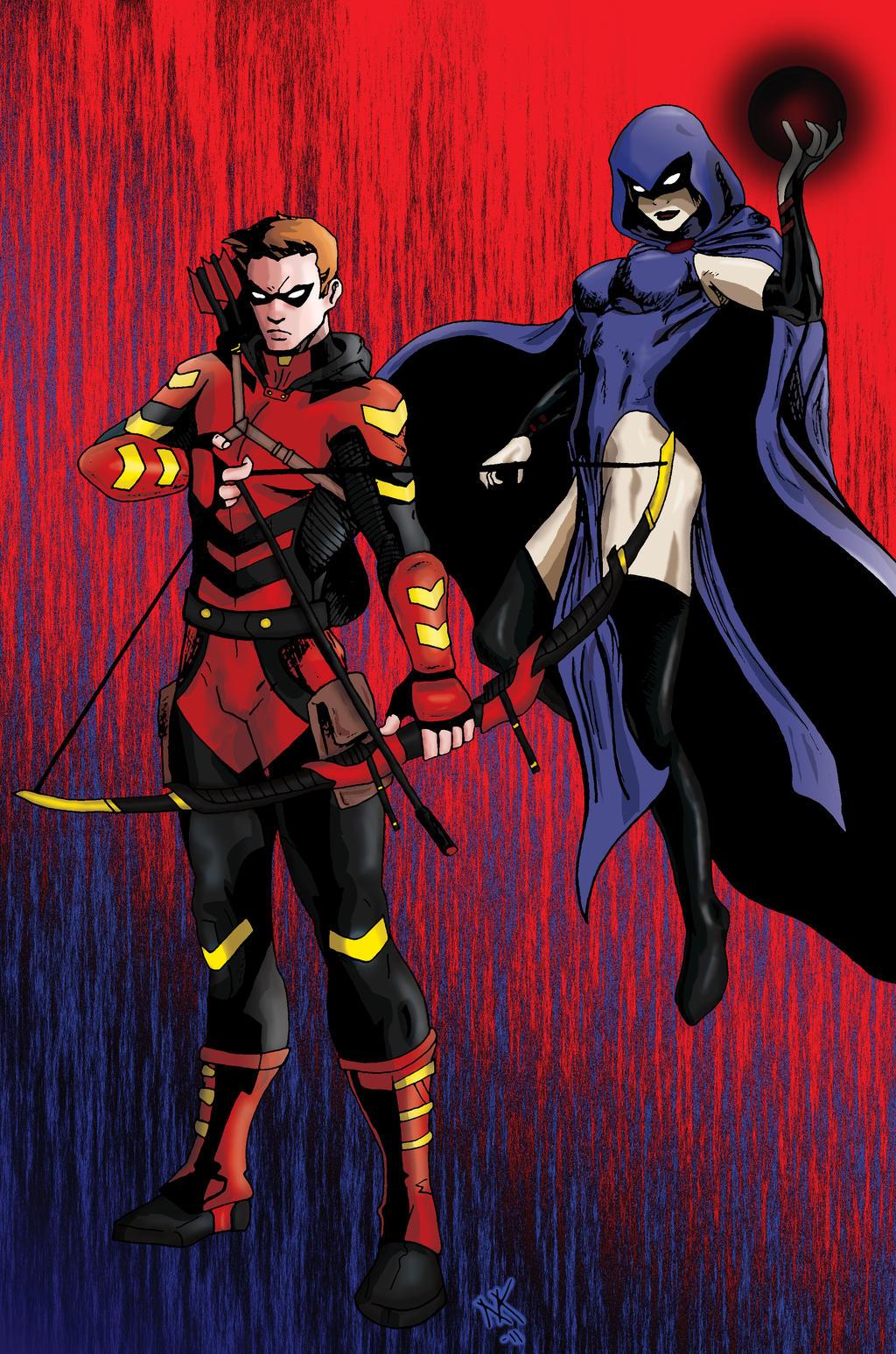 Teen Titans Dc Deck Building Game Raven Effect