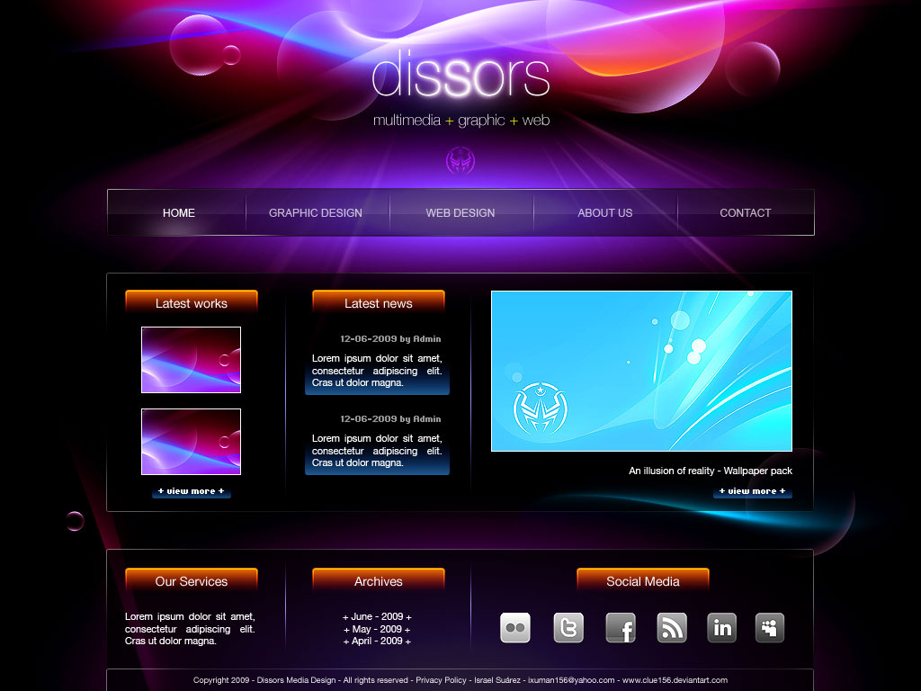 Website Design Templates Dreamweaver. dreamweaver templates ...