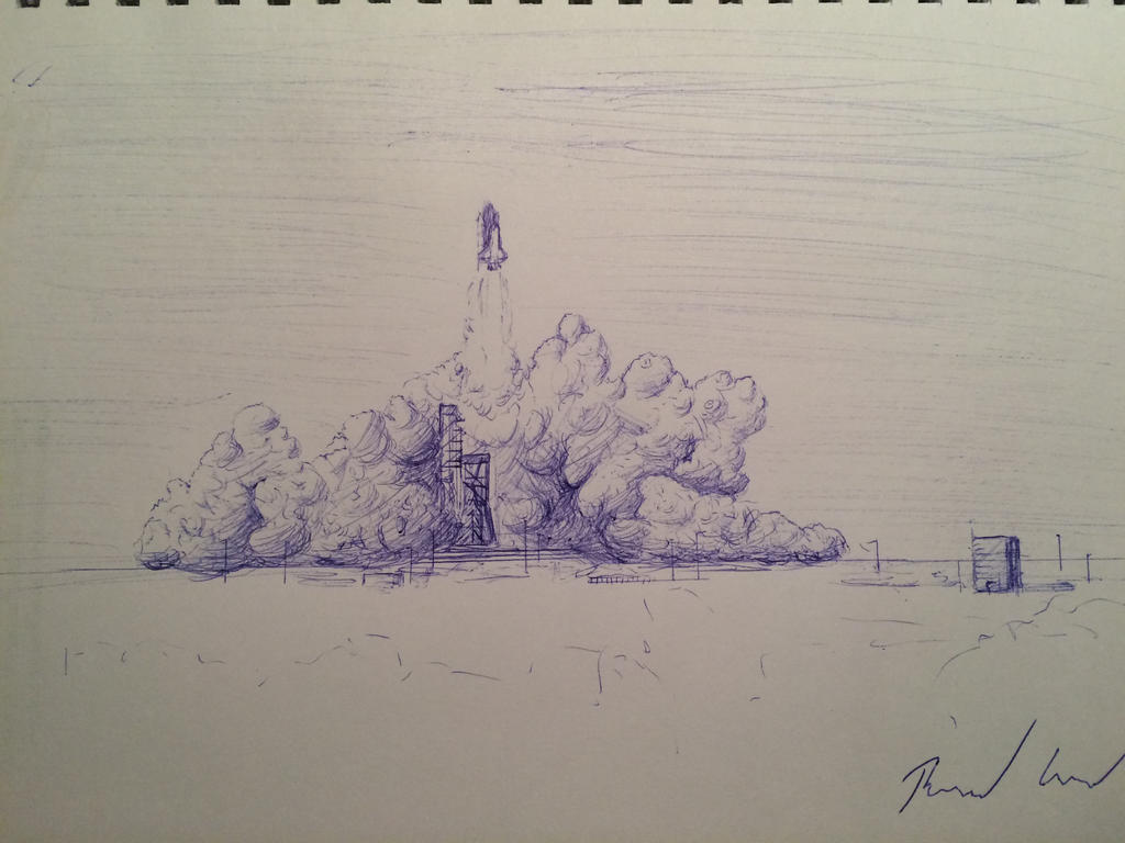 space_shuttle_launch_by_devastian-d9ny4m
