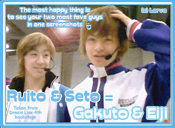 Gakuto+Eiji : Ruito+Seto by AcherontiaStyx-larva