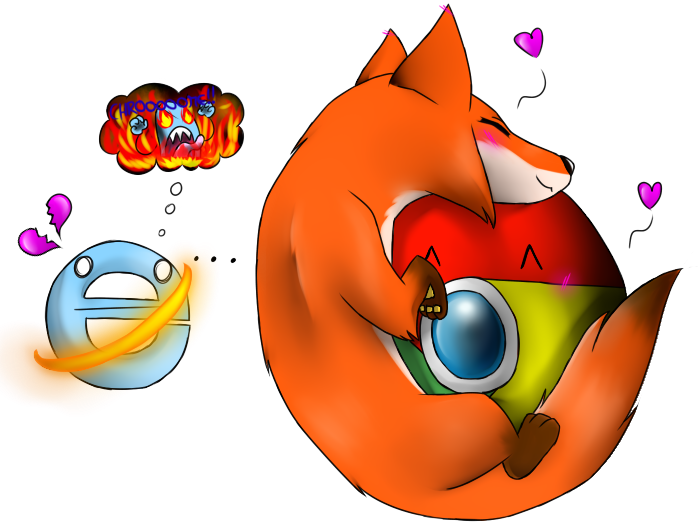 Chrome X FireFox by missyDischa on DeviantArt