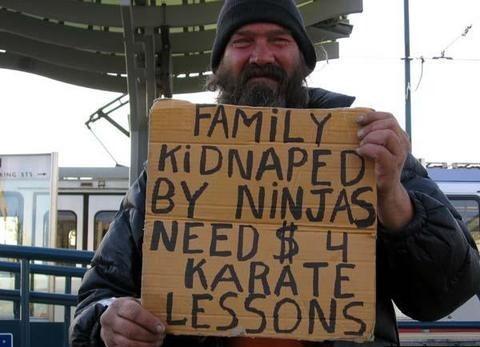 ninjas kidnaped by La-Duque