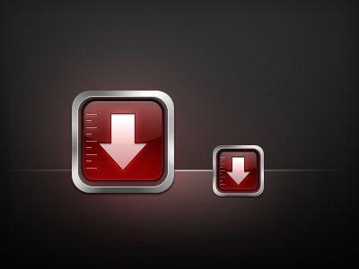 Downloader App Icon