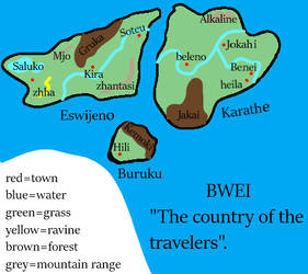 Map of Bwei by thefirechicken