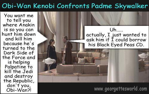 Obi Wan and Padme fun