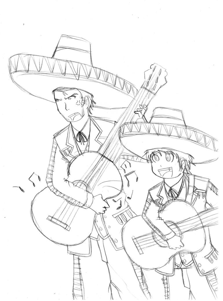 Chowder and Shnitzel:Mariachis