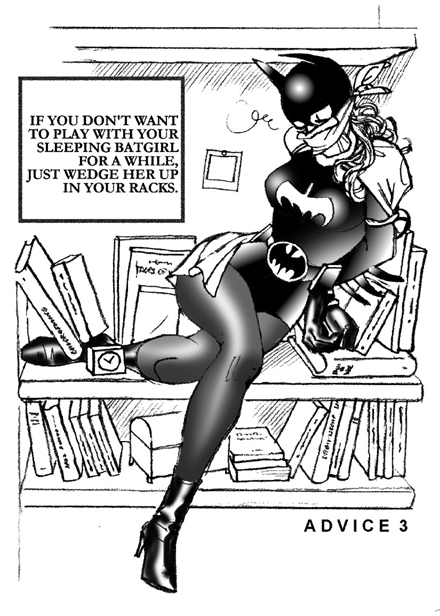 Batgirl chloroformed-advice 03 by monsieurpaul