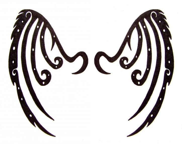 Old Demon Wings Tattoo by ~xSHADOW-RABBITx on deviantART
