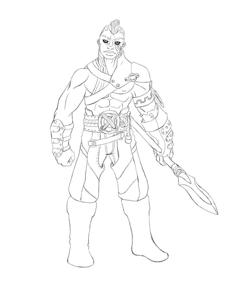 Bastion - Goliath Warlock by South-Paw-Production