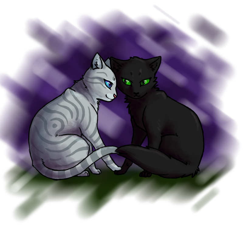 Warrior Cats Mothwing And Willowshine hollyleaf_and_willowsh...