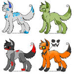 Halloween Wolf Adopts 4-CLOSED