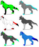 Wolf Adoptables 110 - 1 LEFT