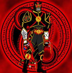 Kamen Rider Warlock, Hero of Monster High by Hellboy777Kratos