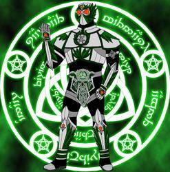 Kamen Rider Druid, Monster High's second Rider by Hellboy777Kratos