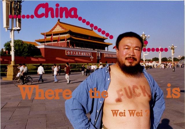 Where the Fuck is Wei Wei? by DVanDyk