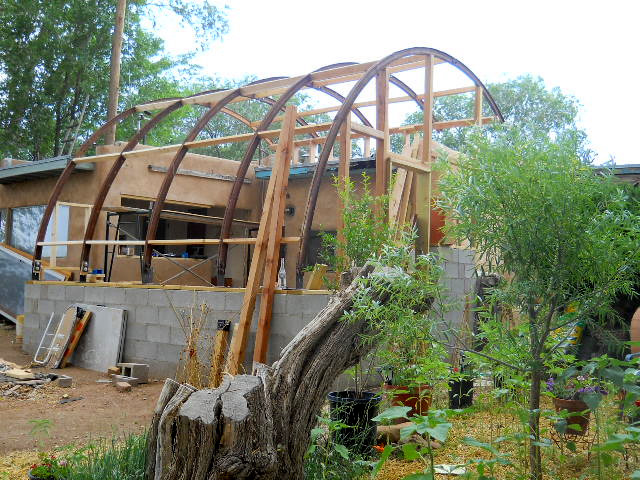 Greenhouse, Side view Frame