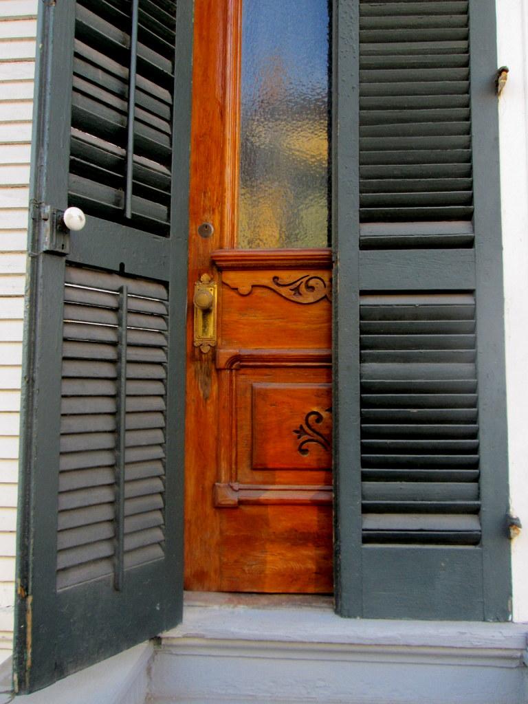 Carved Door by DVanDyk