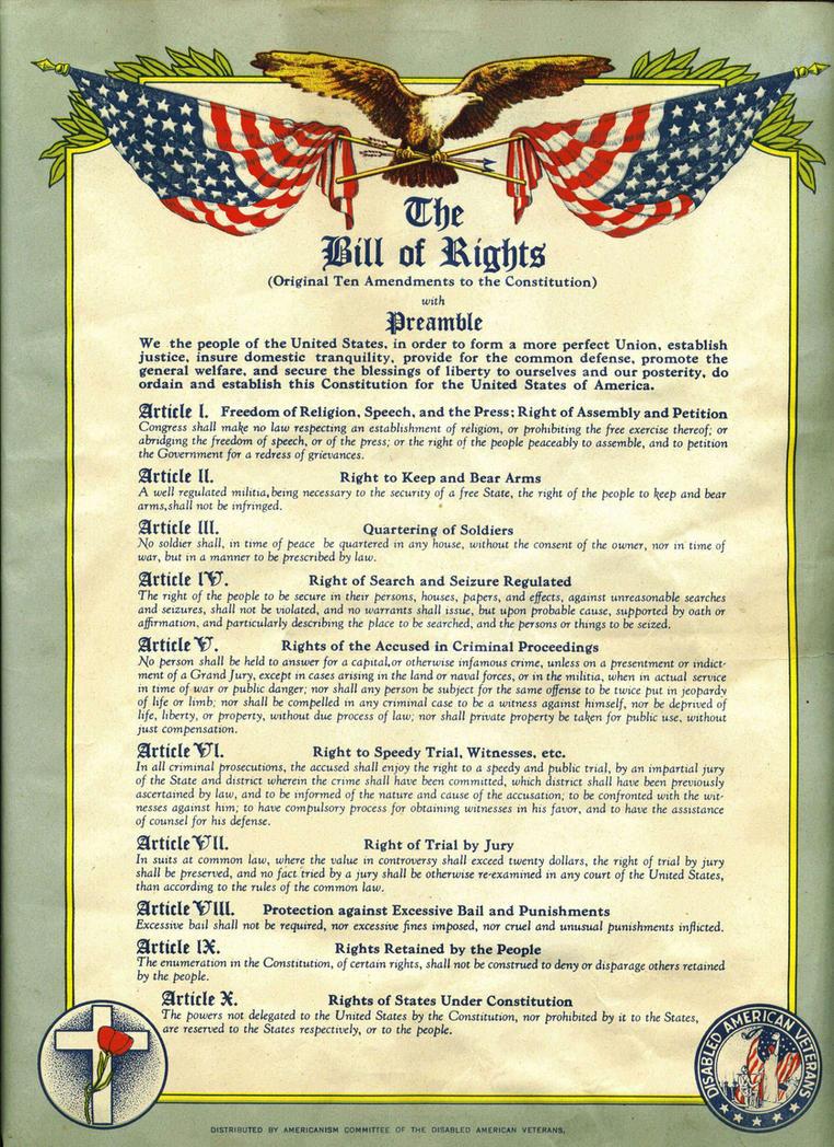 us bill of rights pdf