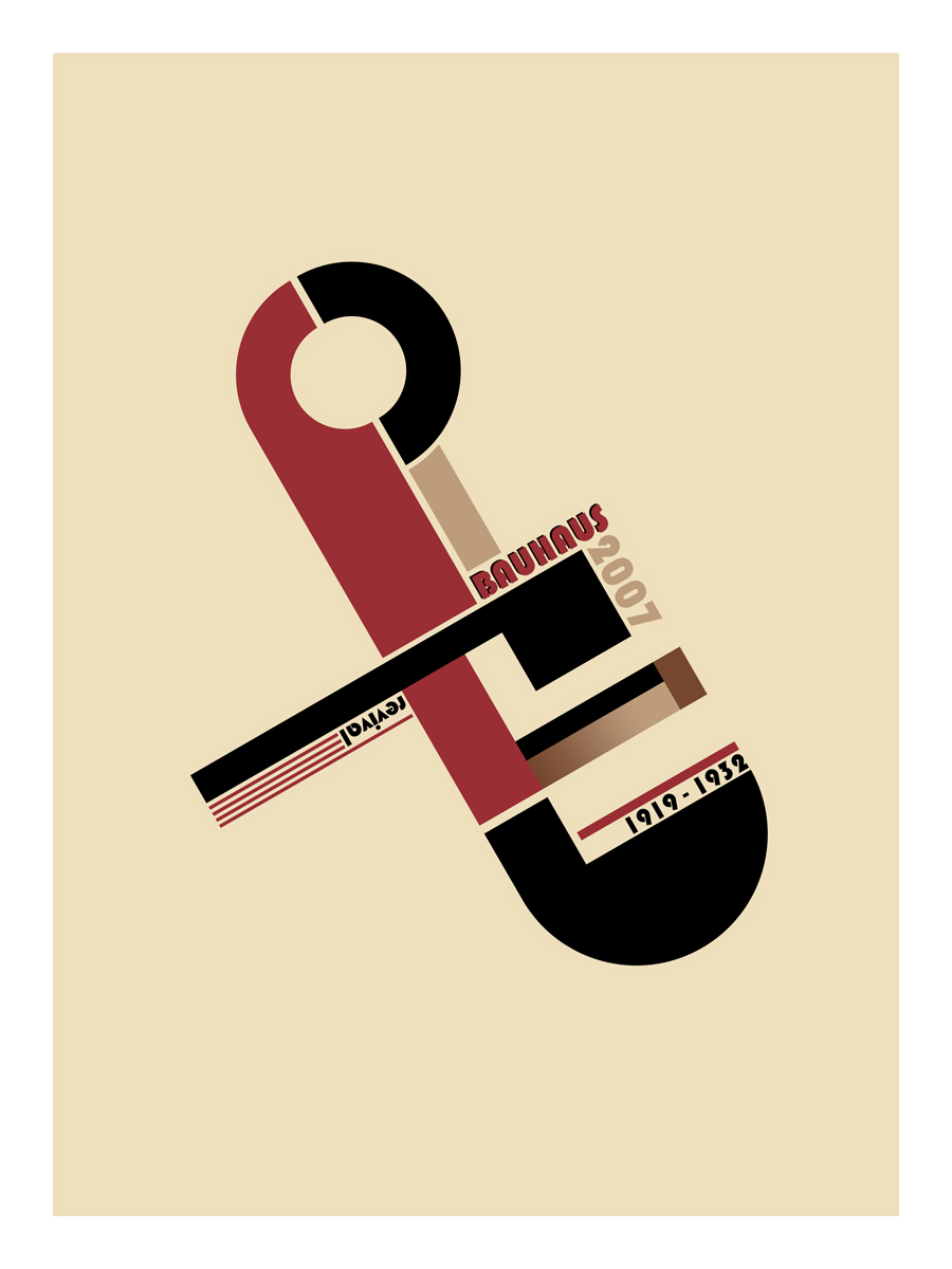 Bauhaus by h2ogfx on deviantart for Replica bauhaus