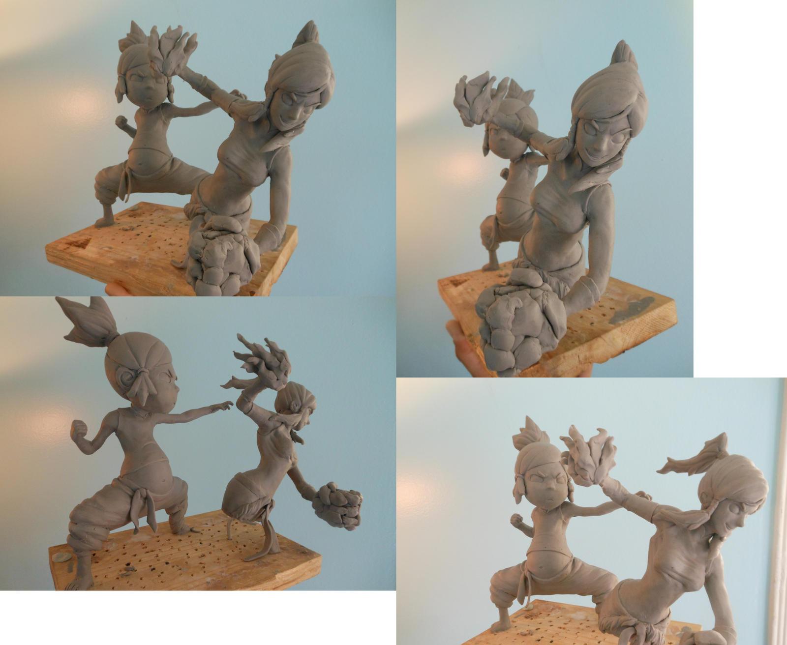 Korra  Sculpts by b1938dc