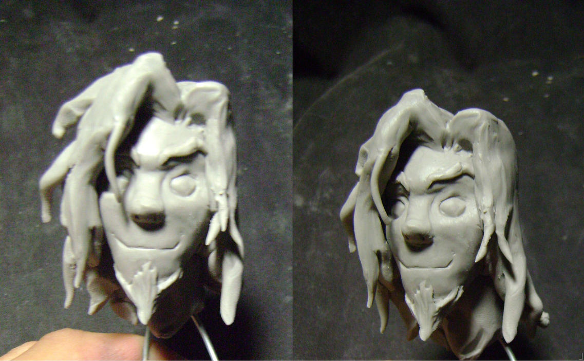 Wan The First Avatar sculpted by b1938dc