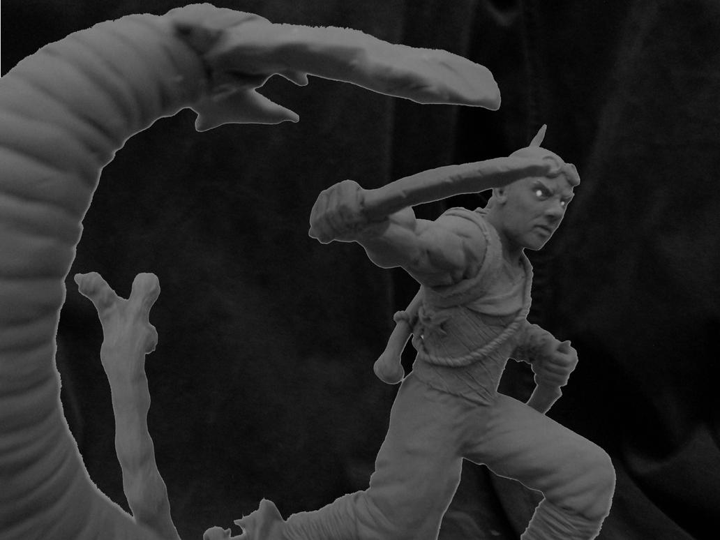 Riddick Sculpture by b1938dc