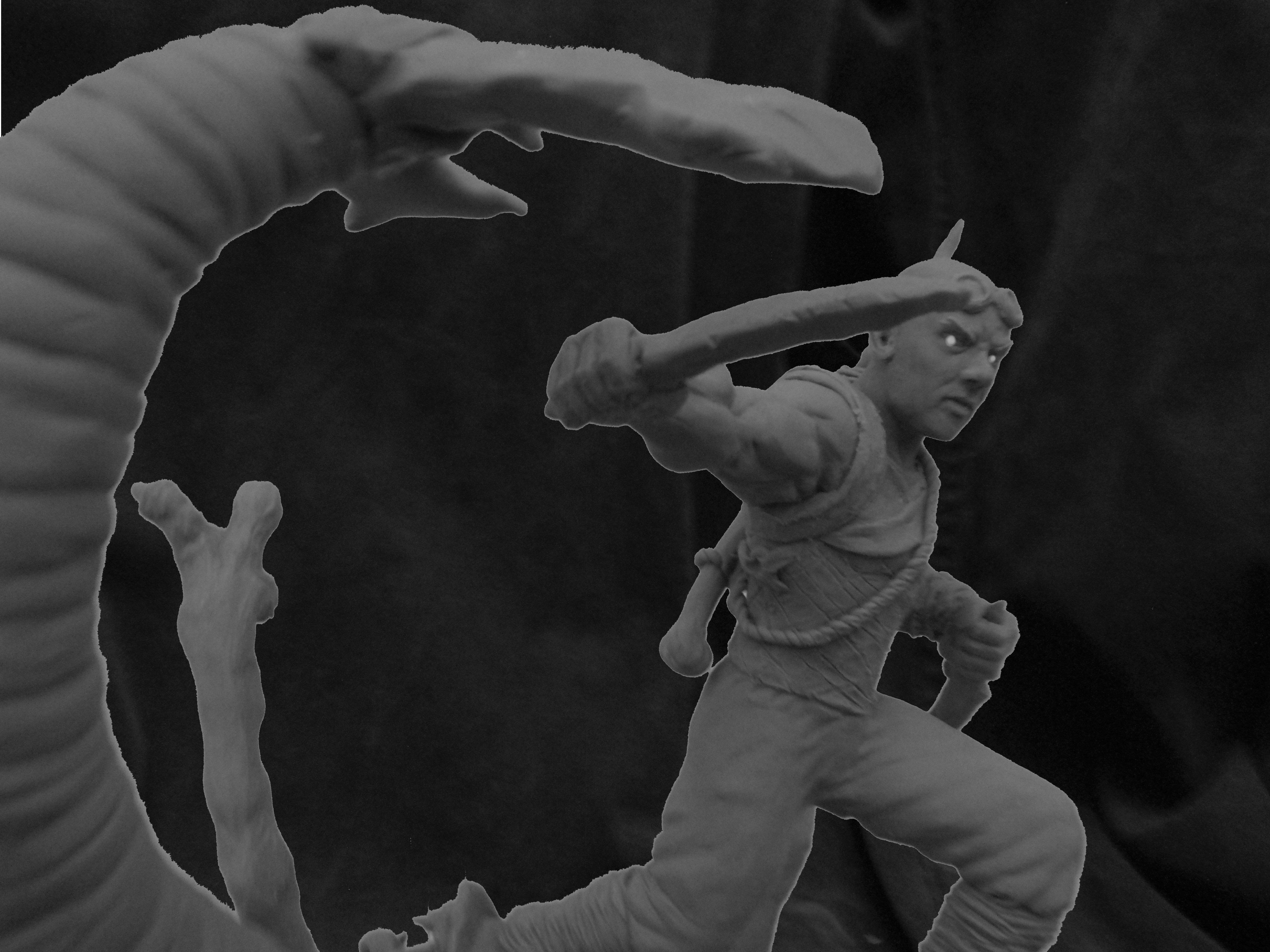 Riddick Sculpture by b1938dc