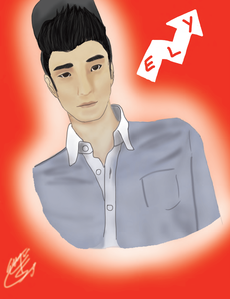 Eugene Lee Yang from Buzzfeed by lenoireish on DeviantArt