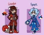 .:Pokemon/ref:. Humanized Kyogre and Groudon