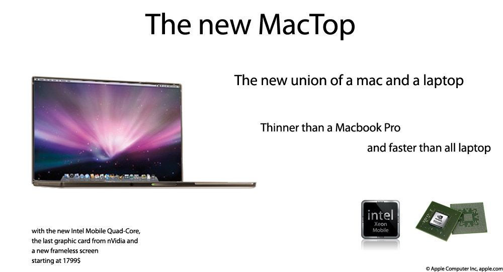 The MacTop by lebreton