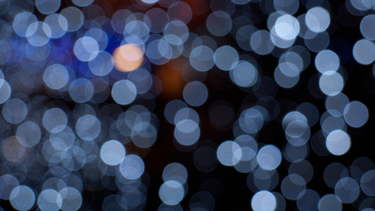 Bokeh lights by lebreton