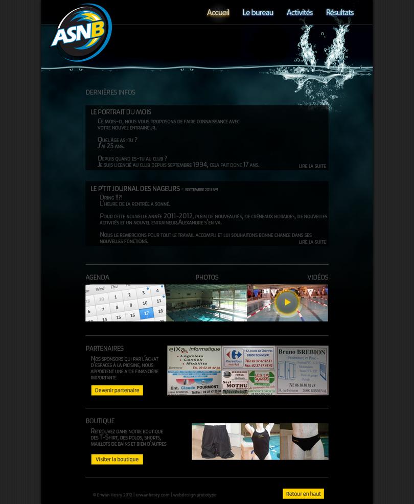 ASNB webdesign prototype by lebreton