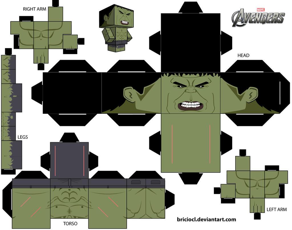 Cubeecraft Template Hulk By Briciocl On DeviantArt