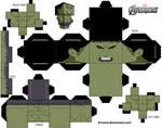 Cubeecraft Template Hulk