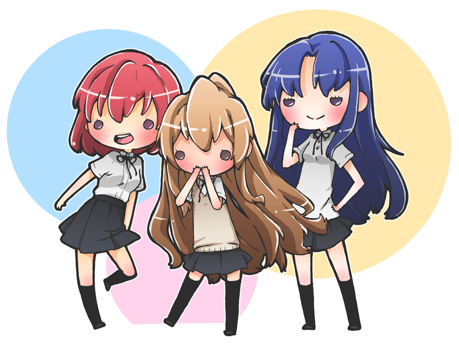 ToraDora! by h-Robun