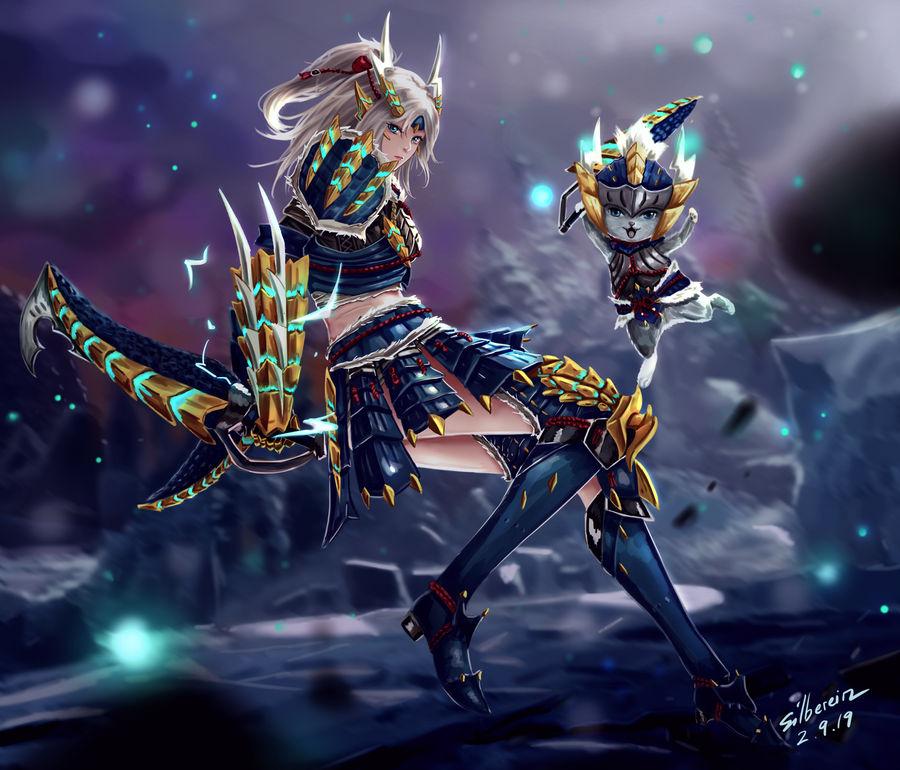 Zinogre Female Armor By Silberein On Deviantart